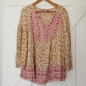 Pedro del Hierro | romantic floral blouse